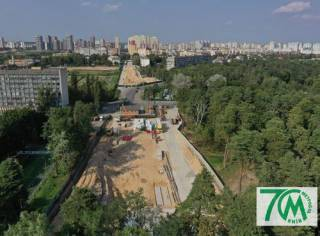В сети появились фото строительства метро на Виноградарь