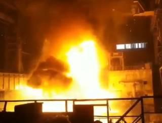 В Сети появилось видео разлива стали на заводе Ахметова и Новинского