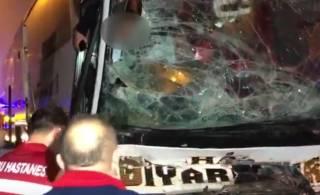 Турцию потрясло страшное ДТП: автобус с людьми врезался в трактор