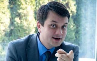 Дмитрий Разумков: Зеленский – первый президент, который начал выполнять Минские соглашения