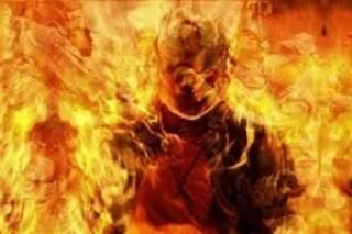 На Полтавщине мужчина сжег себя заживо после ссоры с женой