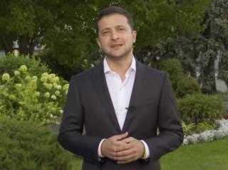 Зеленский записал видеообращение, адресованное украинцам всего мира