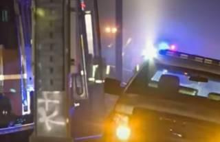 В Калифорнии разбился поезд метро