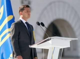 Зеленский обратился к украинцам по случаю Дня Независимости, внезапно «забыв» про коварного агрессора