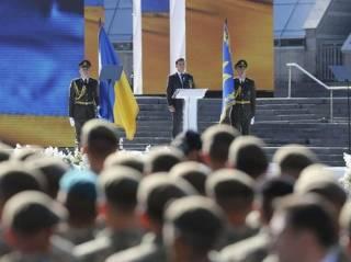 «Ганьба!» На Майдане произошла драка во время выступления Зеленского