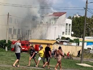 На Одесщине вспыхнул детский развлекательный центр