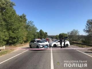 В Харькове разрушился автомобильный мост