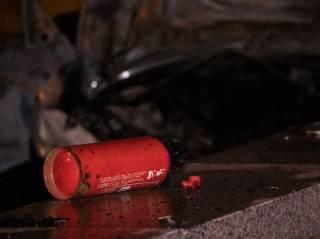В огненном ДТП на Шулявке погибла девушка-водитель