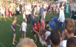 Жители одного из сел на Волыни устроили странные игры со свиньями. Ими уже заинтересовалась полиция