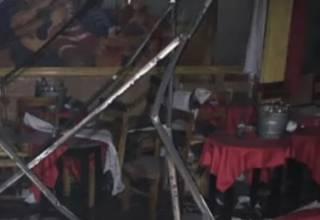 В Мексике сожгли бар с десятками людей внутри