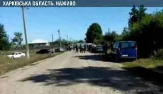 Неизвестные лесорубы напали на журналистов в прямом эфире на Харьковщине