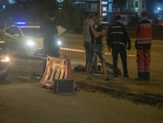 В Киеве нелегалы перерезали горло молодому парню