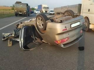 На Житомирщине легковушка с нардепом на огромной скорости врезалась в КамАЗ