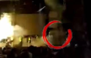 Популярная испанская певица сгорела на сцене во время концерта: появилось жуткое видео (18+)