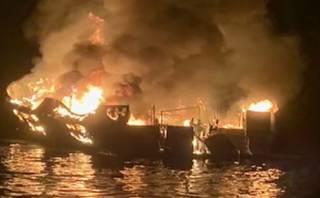 В Калифорнии сгорел корабль с туристами – погибли десятки людей