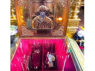 В Киев 20 сентября прибудут мощи и башмачок святителя Спиридона Тримифунтского