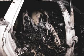 В Киеве сожгли автомобиль Валерии Гонтаревой