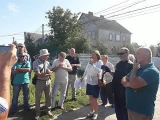 В Ровно националисты пикетировали строительство храма УПЦ