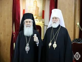Иерусалимский Патриарх заявил о том, что в Украине поддерживает лишь одну Церковь