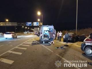 На Житомирщине в ДТП погибли сразу четверо молодых ребят