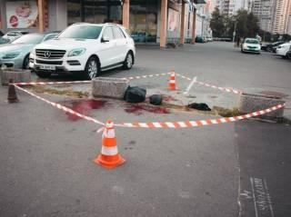 В Киеве молодой мужчина убил себя… флаконом от духов