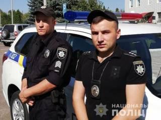На Николаевщине порезали полицейского, который спасал заложницу и грабителя