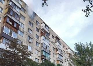 В Киеве произошел большой пожар – есть погибший