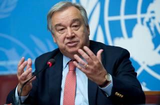 Генсек ООН выставил Украине требование относительно Крыма