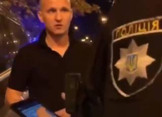 «Динамовская школа»: в Сети появилось видео Алиева, матерно угрожающего полицейскому (18+)