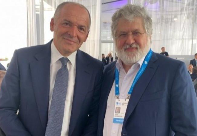 Коломойский заявил, что не может появляться в одном месте с Зеленским