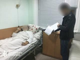 В Черкассах «оборотни в погонах» прямо на кладбище избили мужчину