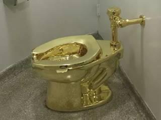 В Англии из родового имения герцогов Мальборо украли золотой унитаз, в который мог «сходить» каждый желающий