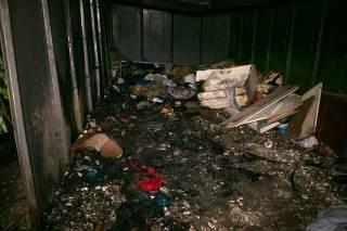 В Киеве из огня спасли двух бомжей