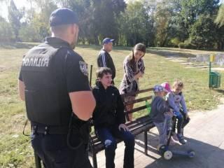В киевском парке пытались похитить ребенка прямо на глазах у матери