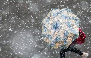 В Украине может пойти снег