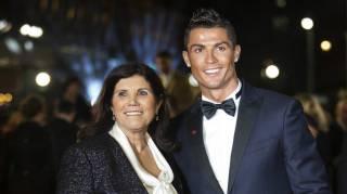 Криштиану Роналду запретил матери смотреть свои матчи