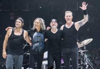 Группу Metallicа признали самой «концертной» в мире