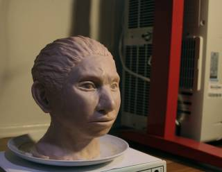 Ученым удалось воссоздать облик юного представителя вымершего вида людей