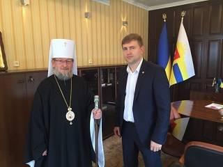 Новый губернатор Ровенской области заверил, что не допустит захватов храмов и незаконных перерегистраций церковных общин
