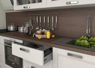 Как правильно выбирать столешницы для кухни
