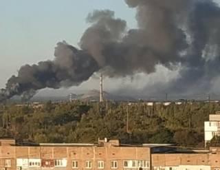 В Донецке с самого утра гремят взрывы