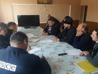На Волыни представителям ОБСЕ сообщили о религиозном конфликте