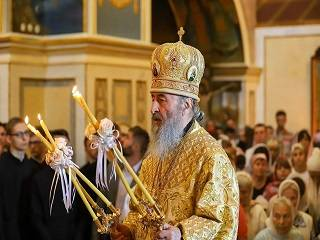 Митрополит Онуфрий считает духовно-пастырскую опеку военнослужащих приоритетом в деятельности УПЦ
