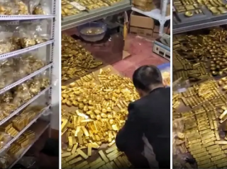 У бывшего секретаря Коммунистической партии нашли тонны золота и сотни миллиардов наличкой