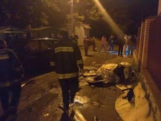 В Умани загорелся дом с хасидами
