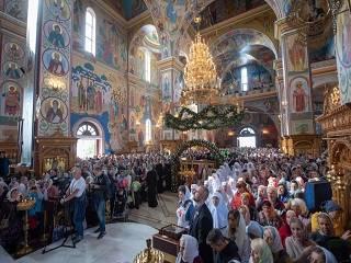 В Одессе тысячи православных отметили 25-летие прославления преподобного Кукши