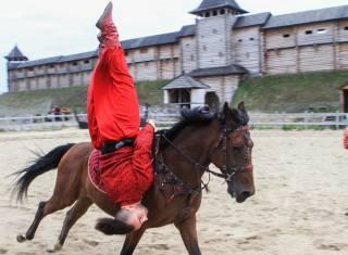 Не пропустите яркое событие: под Киевом будут соревноваться конные каскадеры