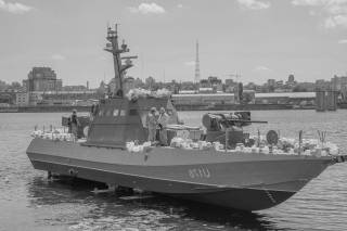 Украинский арсенал: малый бронированный катер типа «Гюрза-М»