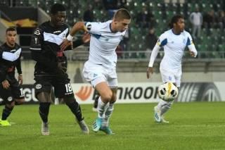 Лига Европы: «Динамо» и «Александрия» свои матчи завершили вничью