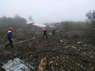Крушение Ан-12 на Львовщине: озвучены имена и сведения о состоянии здоровья пострадавших